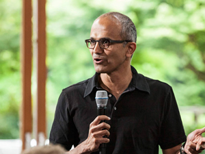 Microsoft'a Hintli CEO