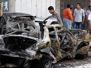 Bağdat'ta patlama: 9 ölü