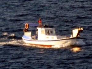 Yunan sahil güvenlik botlarından Türk balıkçılarına taciz