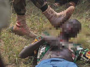 Orta Afrika'da kan donduran işkence