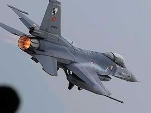 F-16'lar vur emriyle harekete geçti