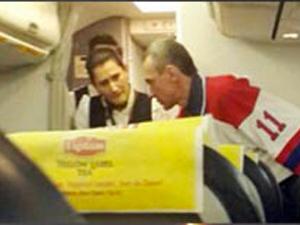 Yolcu uçağını kaçırma girişimine başarılı operasyon