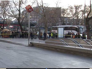 Ankara'da Kızılay Metro İstasyonu'nda bomba paniği
