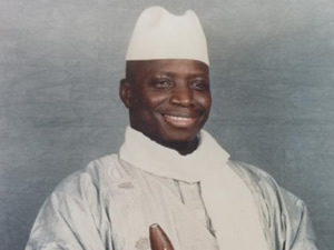 Diktatör Yahya Jammeh, Türkiye'ye Geliyor