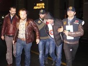 Tutuklanan hava korsanı cezaevine gönderildi