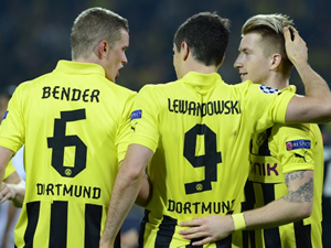 Dortmund'da Son Kurbanlar Reus ve Bender