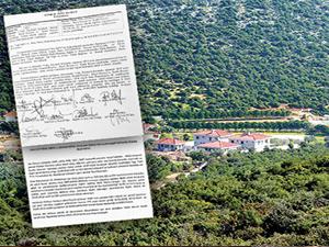 SİT alanındaki hazine arazisine de villa yapılmış
