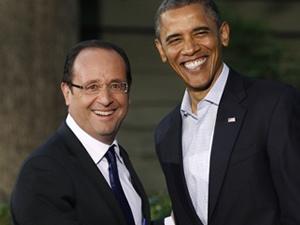 Obama, Hollande'ı 40 dakika bekletti
