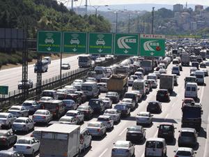 İstanbul'da emniyet şeridi talimatı
