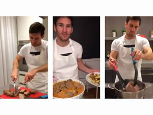 Messi iddiayı kaybedince...
