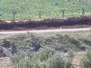 Suriye sınırına kurşun geçirmez engel