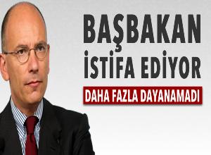 İtalya'da Başbakan Letta'dan şok karar
