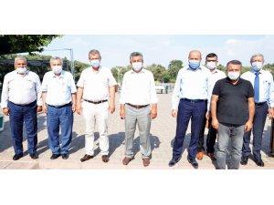 Ankara Pancar Kooperatifi'nden Başkan Akay'a ziyaret