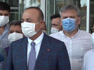 """Dışişleri Bakanı Çavuşoğlu: """"Muhittin Başkanımızın durumu her geçen gün iyiye gidiyor"""""""