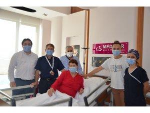 Yanlış ameliyatla şikayetleri geçmeyen kadın Karabük'te sağlığına kavuştu