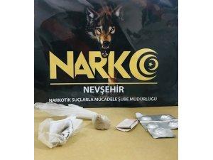Nevşehir'de uyuşturucudan 2 kişi yakalandı
