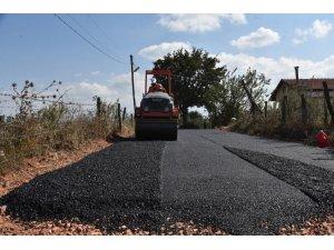 Tekkeköy asfalt yola kavuştu