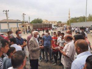 MHP Mardin İl Başkanı Bozkuş, Ortaköy mahallesi sorunu için çalışma başlattı