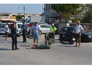 Ayvalık'taki kazada can pazarı: 1 yaralı