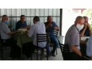 Korona virüsü hiçe sayan 12 kişiye para cezası