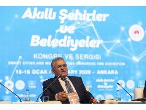 """Kayseri Büyükşehir, """"Akıllı Şehirlere' örnek gösteriliyor"""