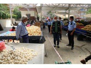 Haliliye'de semt pazarları denetlendi