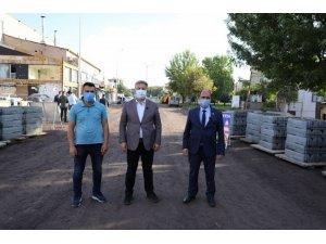 """Başkan Dr. Palancıoğlu; """"Danışmentgazi de yollar seri ve güvenli hale getiriliyor"""""""