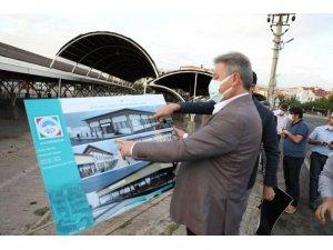 """Başkan Dr. Palancıoğlu; """"Selçuklu pazaryeri yenilenerek çok amaçlı sosyal tesis olarak hizmet verecek"""""""