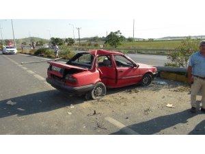 Feci kaza ucuz atlatıldı