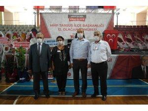 Tarsus MHP'de Mehmet Çelik başkan oldu