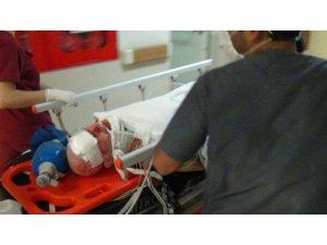 18 yaşındaki motosiklet sürücüsü ağır yaralandı
