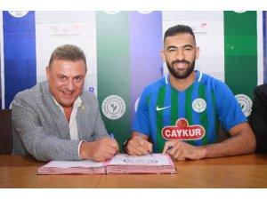 Çaykur Rizespor, Yassine Meriah ile sezon sonuna kadar anlaştı