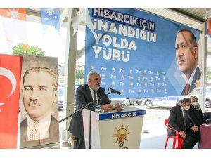 Hisarcık AK Partide Ali Var, güven tazeledi.