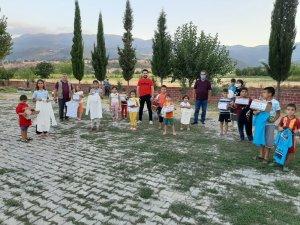 Amasya'da çocuklar için gönül seferberliği devam ediyor