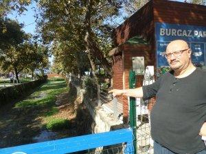 Bursa'da dere ilgisizlik ve bakımsızlıktan çöplüğe döndü