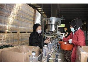 Korona virüs kolonya üretimini yüzde 600 arttırdı