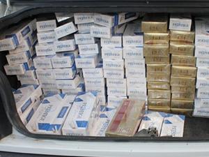 Adana'da 260 bin kaçak sigara ele geçirildi