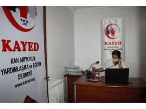Elazığ'da örnek çalışma, plazma bağışları için çağrı merkezi