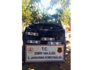 Araçların parçalarına ayrılıp satıldığı çiftlik evine operasyon