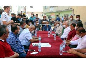 Gültak, Adanalıoğlu'nda vatandaşlar bir araya geldi