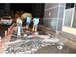 """Başkan Palancıoğlu: """"Hastaneler bölgesinde ve sağlık merkezlerinde dezenfekte çalışması devam ediyor"""""""