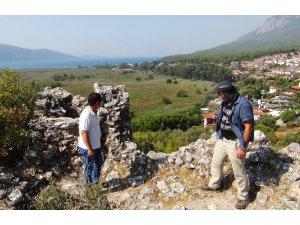 'Sakin Kent' Akyaka'daki Ortaçağ kalesinde kazı çalışmaları başladı