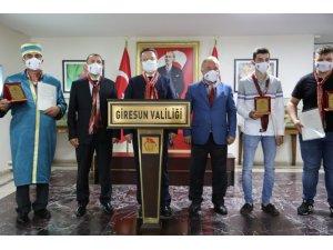 Giresun'da Ahilik Haftası pandemi tedbirleri çerçevesinde kutlandı
