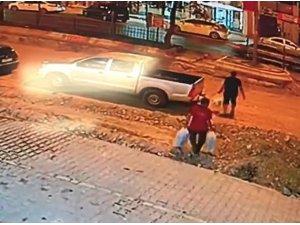 Polis memuruna otomobil çarptı