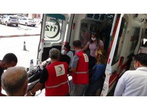 Kızılay Şehidi ile yaralısı Türkiye'ye getirildi