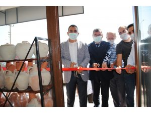 Eğirdir Seramik Sanat Evi açıldı