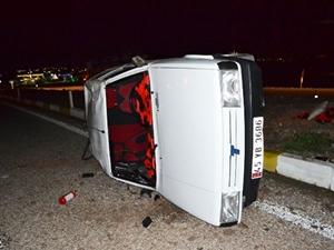 Kırkağaç'ta kaza: 2 yaralı