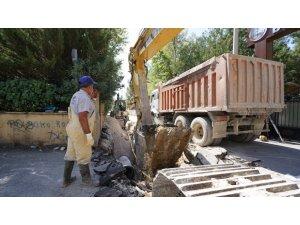 Barbaros Hayrettin Mahallesinde altyapı çalışması