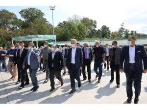Amasya Şeker'de 67. pancar alım kampanyası başladı