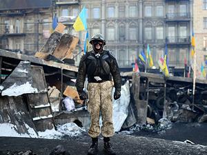 Ukrayna'daki hükümet karşıtı gösteriler